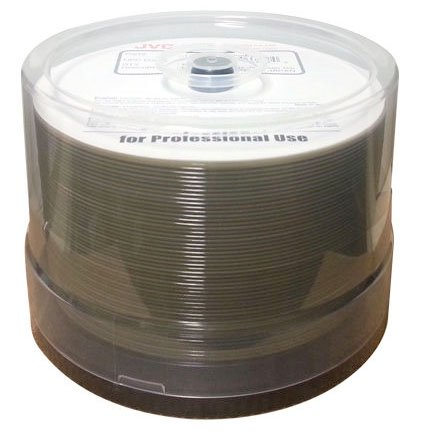 600 JVC Taiyo Yuden Blu-ray 6X BD-R LTH 25GB Disc White Inkjet Hub