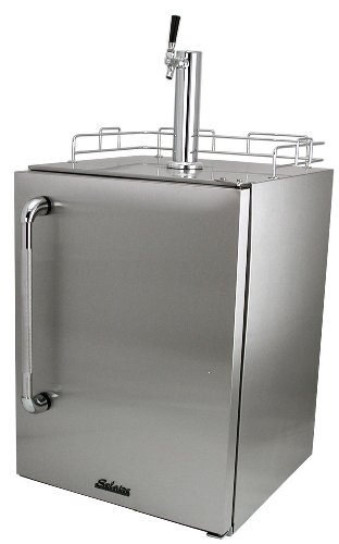Solaire Solaire Outdoor-Certified Refrigerated Keg Beer Cooler, Stainless Steel