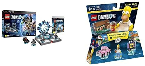LEGO - Starter Pack Dimensions (PS3) + Level pack: The Simpsons, Homer: Amazon.es: Videojuegos