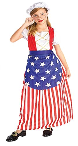 [Betsy Ross Costume - Large] (Betsy Ross Hat)