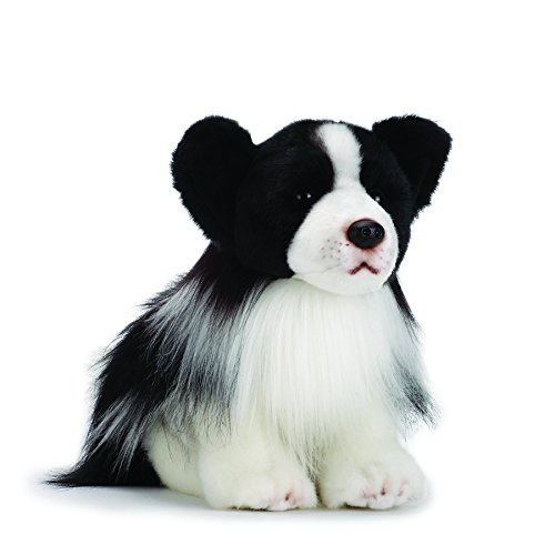 Nat and Jules Plush Toy, Border Collie, (Border Collie Plush)