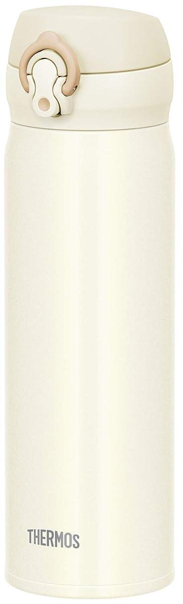 THERMOS Vacuum Insulated Mobile Mug One Touch Open Cream White 500ml JNL-504 CRW