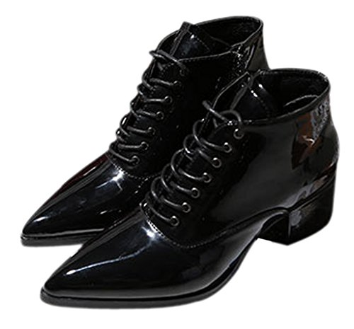 Katypeny Womens Pointed Zipper Chunky product image