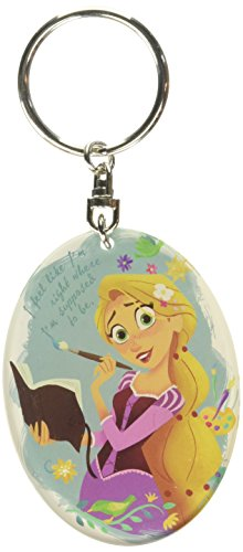 Disney Tangled - Rapunzel Lucite Key Ring Key Accessory