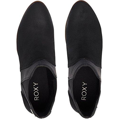 (Roxy Women's Linn Fashion Boot, Black, 9 M US)