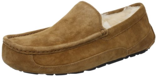 UGG Men's Ascot Slipper, Chestnut, 14 M US by UGG