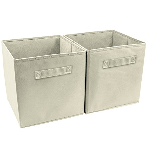 Sorbus Foldable Storage Cube Basket