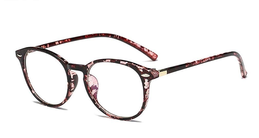 Occhiali Tondi Specchio Piatto Retr/ò Unisex Letterario In Stile Retr/ò,Per Occhiali Da Vista Alla Moda
