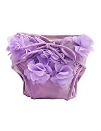 [Purple] Reuseable Baby Swim Diaper Lovely Infant Swim Nappy Swimwear