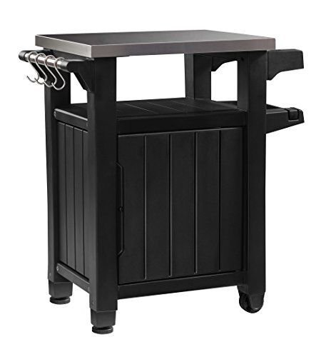 Keter Unity Indoor Outdoor BBQ Entertainment Storage Table / Prep Station with ..#from-by#_abood.av it#199172317511378 by Regarmans (Image #4)