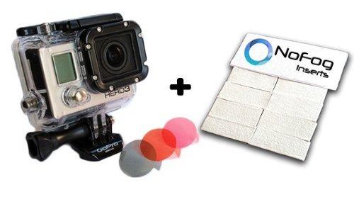 Das Zubehör Pro® Bundle–8Anti-Fog Einsätze, Winter, rot, magenta Filter kompatibel mit allen GoPro® hero4Hero3+ Hero3Kameras