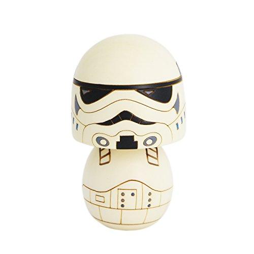 "Star Wars Handmade Wooden ""Usaburo"" Kokeshi Doll (Storm Trooper)"