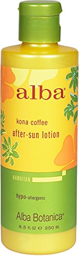 Alba Botanica After Sun Ltn Kona Coffee 8.5 Fz