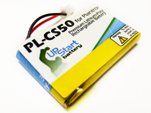 Replacement Battery for Plantronics CS55, CS50, CS60, HL10, 65358-01, CS60, CS50-USB - UpStart Battery brand with