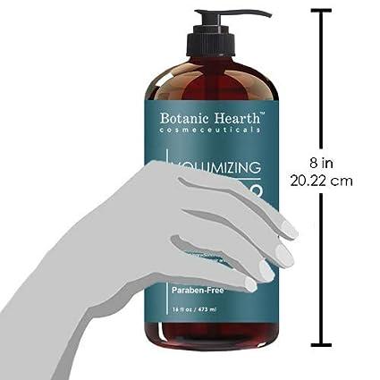 Amazon.com: Botanic Hearth pérdida de cabello Champú con ...