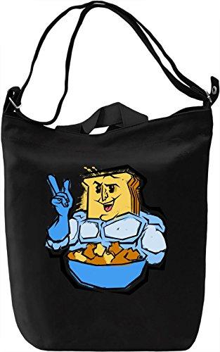Powdered Toast Crunch Borsa Giornaliera Canvas Canvas Day Bag  100% Premium Cotton Canvas  DTG Printing 