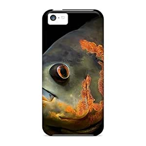 New Fashion Premium Tpu Case Cover For Iphone 5c - Astronotus Ocellatus