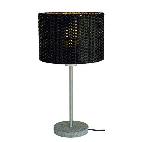 Outdoor Rattan Floor Lamp in US - 9