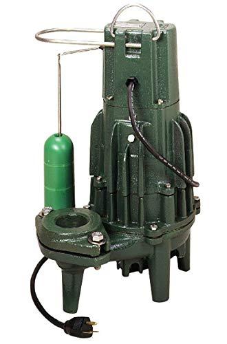 (Zoeller 284-0004 Non-Automatic Cast Iron Single Phase Submersible Sewage/Effluent Pump)