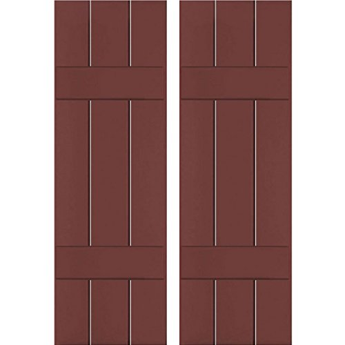 Ekena Millwork RWB12X058CRP Exterior Three Board