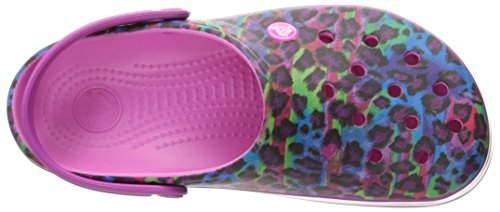 Ii Crocband Mule Pink Party Crocs Zueco Unisex Animal wtZqwg5