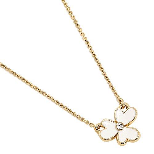 kate spade new york Pansy Blossoms Mini Pendant Necklace - - Pendant Blossom Mini
