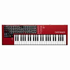 With innovative new performance features, advanced layering and synchronization possibilities, new filter types and on-board effects, the Nord Lead 4 is a synthesizer dream come true. Nord Lead 4 is a 4-part multi-timbral synthesizer sporting...
