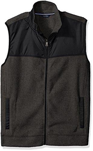 Nautica Mens Slim Fleece Vest
