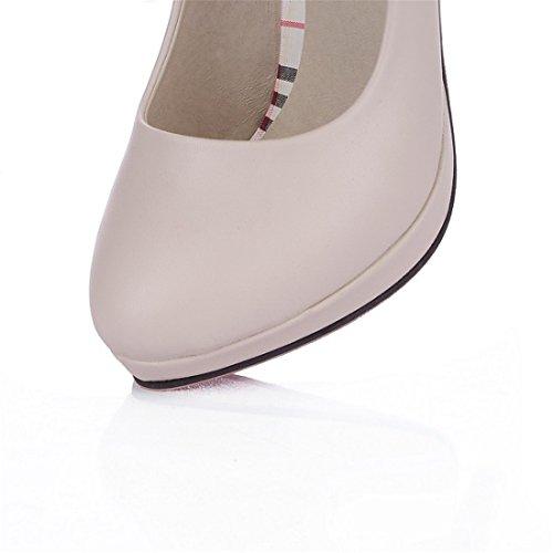Trabajo de Mujer Sandalette DEDE Tacones Zapatos Zapatos Beige Zapatos Tacones Superficial Zapatos Altos de EaE0tq