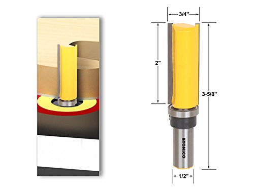 Pattern/Flush Trim Router Bit 3/4
