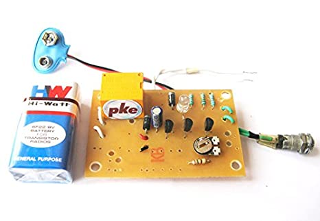 pke Light Switch - LDR Circuit Project on