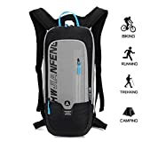 BLF Bike Backpack, Waterproof Breathable Cycling Bicycle Rucksack, 10L Mini Ultralight Biking Daypack Sport Bags Gift for Fitness Running Hiking Skiing Trekking