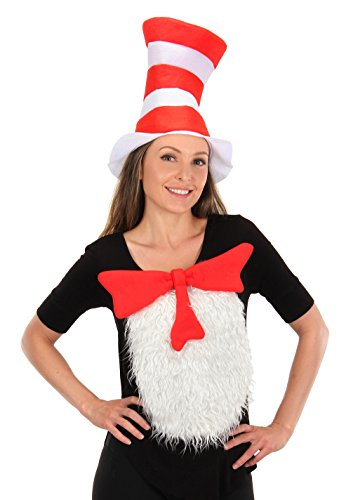 elope Dr. Seuss Cat in the Hat Adult Insta-Tux Kit