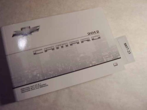 2012 Chevrolet Camaro Owners Manual