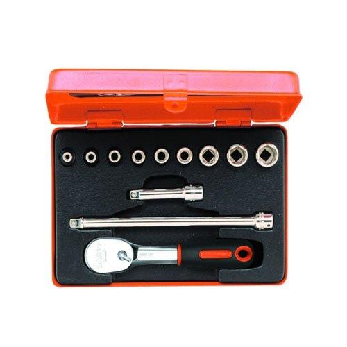 Bahco 6712R 1/4-Inch Socket Set