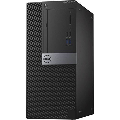Dell Optiplex 7040 Mini Tower, Intel Core 6th Generation i5-6600 Processor, 8 GB DDR4, 500 GB HDD, Windows 10 Pro (Certified Refurbished)