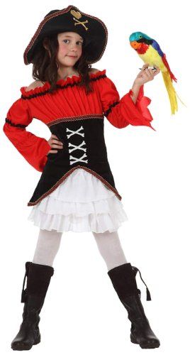 Atosa - Disfraz de pirata para niña, talla 5-6 años (10908 ...