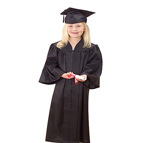 Graduation Gown Costume (U.S. Toy Graduation Cap and Gown, Black)