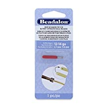 Beadalon Wire Rounder Burr Attachment Use with Battery Operated Bead Reamer and 12, 14, and smaller gauge wires