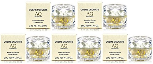 Cosme Decorte AQ Meliority Intensive Cream 2g x 5 bottles (10g total, travel size)- Free worldwide shipping by Cosme Decorte