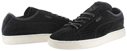 Puma Suede Courtside Perf Heren Sneakers Zwart