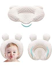 Babykudde, för nyfödda, huvudform, stöd, sovkudde + örngott + 2 pelare