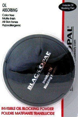 Black Opal Oil Absorbing Blocking Powder (3-Pack) with Free Nail File by Black Opal