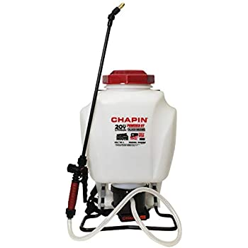 Chapin International 63985 Black & Decker Backpack Sprayer, 4 gal, Translucent White
