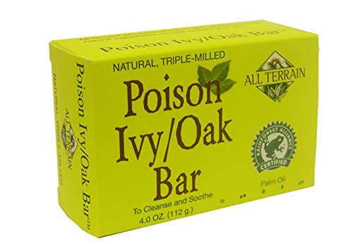 All Terrain Natural Poison Ivy Oak/Bar 4oz, Helps Dry Rashes & Reduce Itching & Irritation from Poison Ivy, Poison Sumac, Poison Oak