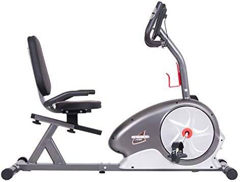 Cuerpo Champ magnético Recumbent Bike - BRB5872, Negro/Plateado ...