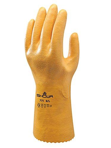 771/NBR Guanto Guanto colore: giallo taglia: XL Showa Guanti sho771-xl n Confezione da 2
