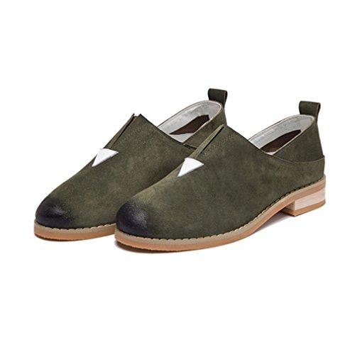 grün Jrenok Mujer Mujer Armee Jrenok Slippers Slippers xwEYq400