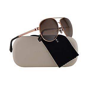Marc Jacobs Marc 305/S Sunglasses Gold Copper w/Polarized Brown Gradient Lens 61mm DDBLA Marc 305S Marc305S Marc305/s
