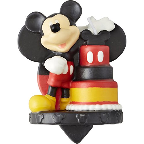 Wilton Mickey and The Roadster Racers Birthday Candle, Great for Birthday Cakes, Cupcakes